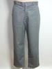 1950's チノパンツ PRENTICEジッパーフライ コインポケット 裾ダブル グレー 実寸(W33位)