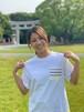 博多織ポケットTシャツ ホワイト