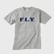 F.L.Y. Crew-Neck T (GRY×NVY)