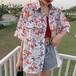 レディース 夏 カジュアル POLOネック 半袖 オシャレ 可愛い シャツ・トップス