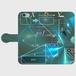 #002-009 iPhone8対応 クール系・ロック系《an equation》手帳型iPhoneケース・手帳型スマホケース 全機種対応 作:んご Xperia ARROWS AQUOS Galaxy HUAWEI Zenfone