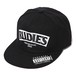"RUDIE'S HEAD GEAR / ルーディーズヘッドギア |【再入荷】"" SLICK "" SNAPBACK CAP - Black/White"