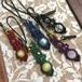天然石のマクラメ編みストラップ/花瓶