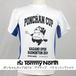 Tommy North  ポンちゃんカップ2014 アクティブ バドミントンTシャツ PON0001 ホワイト×ロイヤルブルー