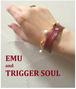コラボレーション企画【EMU×TRIGGERSOUL】 手元のおしゃれ 身に着けるだけで気分は明るく笑顔になる。GR