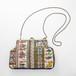 古典柄のチェーンクラッチバッグ  Chain clutch bag(Classic pattern)