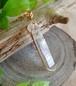 〈女神巻き®〉ポイント型アーカンソー州産水晶のペンダントトップ