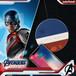 InfoThink ワイヤレス充電パッド MARVEL アベンジャーズ エンドゲーム Qi(チー)ワイヤレス キャプテン・アメリカ iWCQ-100(M)CA