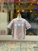KIDS:6°vocaLe 【セスタヴォカーレ】トレプンティンプル(ピンクベージュ/90〜120cm)Tシャツ