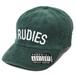RUDIE'S HEAD GEAR / ルーディーズヘッドギア | PHAT CORDUROY PANELCAP / ファットコーデュロイパネルキャップ:Green