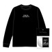 EQUAL SOCIETY Long-Sleeve Shirt Ver.2+Boot Cassette & CDR set BLACK [1908]