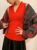 (TOYO) v-neck knit tank top
