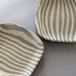 練り込み縞紋板皿 (Lサイズ)