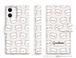 【予約商品・約3週間でのお届け】手帳型iPhoneケース・ゲスくま総柄_SPC17
