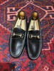 .GUCCI LEATHER HORSE BIT LOAFER MADE IN ITALY/グッチレザーホースビットローファー 2000000050157