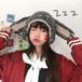 【小物】配色動物柄ファッション合わせやすい帽子25101346