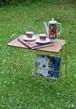 イギリス ミッドセンチュリー コーヒーテーブル マガジンラック ヴィンテージ