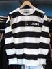 ヘンリーネックボーダーL / S Tシャツ THE COLTS オフィシャル