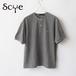 SCYE basics/サイベーシックス・Cotton Pique Henley Neck Shirt