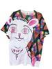 JIM-NET × TENBO 「CAT BLESS YOU」コットン風ドライTシャツ