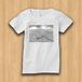 【受注生産】パノラマ「浅草・モノクロ」  レディースTシャツ