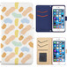 Jenny Desse Galaxy note 9 ケース 手帳型 カバー スタンド機能 カードホルダー オレンジ(ブルーバック)