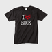 show PRODUCE 「I LOVE ROCK」 Sサイズ T-SHIRT RED LOGO