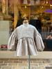KIDS:UNICA【ユニカ】ボリューム袖ブラウス(ベージュ/100cm〜140cm)