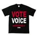 YOUR VOTE IS YOUR VOICE : 1(T-SHIRT) ブラック / レッド