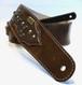 本革製ギターストラップ(スチームパンク/茶革)st159