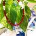 キャディバック+赤色珊瑚 ブレスレット