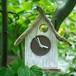 【送料無料】とりっこハウス壁掛け時計、置き時計-5