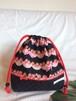 入園入学ランチバッグお弁当入れ巾着49ゴスロリいちご