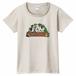 【 309 Farm ロゴ 】レディースTシャツ:オートミール