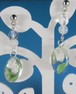 チューリップが揺れる春のピアス(白)