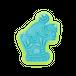長崎 古賀人形 猿乗り馬 0307