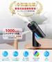 【2020年進化版 & コードレス & USB充電式】 加湿器 卓上 七色変換LEDライト 上下90°調整可 次亜塩素酸水対応 除菌 超音波式 ミニ加湿器 超静音 8時間連続加湿 ペットボトル 車用加湿器 小型 アロマ対応 空焚き防止 6-8畳 部屋 車載 オフィス 乾燥/花粉症対策 大容量 260ML (ブラック)