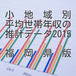 小地域別平均世帯年収の推計データ2015福岡県版