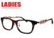 メガネ レディース ウェリントン 1263-7 かわいい オシャレ 眼鏡