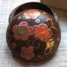 """Makie incense case """"plum blossoms in arabesque"""" by Hakucho"""