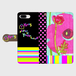 Y's445 手帳型スマホケース Flower Pink(iPhone、Android各種対応可)