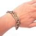 tooth bracelet brass