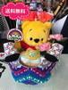 おむつケーキ/オムツケーキ/ANAP/アナップ/出産祝い/誕生祝い/お祝い/ディズニー/プーさん/おむつベビーカー/おむつバイク