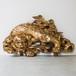 金塗り獅子の蟇股
