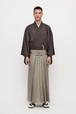 きもの / 米沢織 / 紗 / Charcoal(With tailoring)