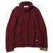 MOHAIR TURTLENECK KNIT (BURGUNDY) / RUDE GALLERY
