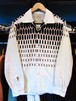L/Sコーデュロイシャツ ELVISDOT オフホワイト STYLEEYES
