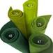 フェルト パーフェクトグリーン 5色セット: 100%ウールフェルト 20X30cm 1mm