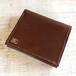 二つ折りミニ財布(焦げ茶)
