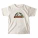 【 309 Farm ロゴ:カラー 】キッズTシャツ:オートミール